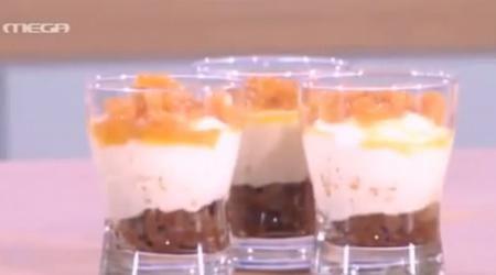 MEGATV COOK - Cheesecake της στιγμής με μαρμελάδα μανταρίνι