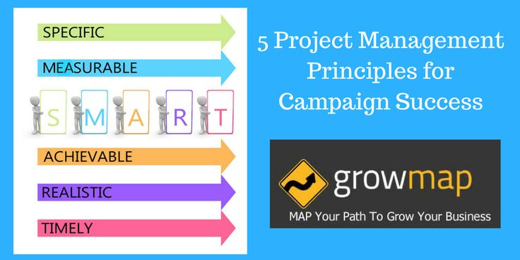 5 Project Management Principles for Campaign Success http://growmap.com/5-project-management-principles-for-campaign-success/
