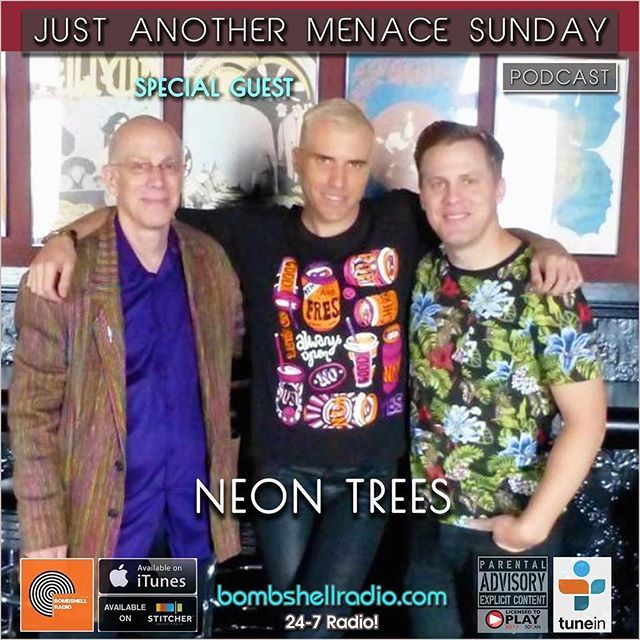 The Menace's Attic/Just Another Menace Sunday Bombshell Radio #interview w/ Neon Trees Bombshell Radio bombshellradio.com Bombshell Radio Monday 6pm-8pm EST Repeats Tuesday 6am-8am EST  #BombshellRadio #melodicrock #radioshow #rock #alternative #TuneInRadio #justanothermenacesunday #dj #DennistheMenace #radioreplay #today #NeonTrees  Theme Song Just Another Menace Sunday Theme (Dennis The Menace) - Mighty Six Ninety Hour 1 A CONVERSATION WITH NEON TREES! Just Another Menace Sunday Theme…