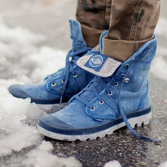 Fancy - Pallabrouse Baggy Boots by Palladium