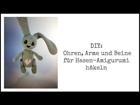 Freie Häkelanleitung: Osterhase mit Herz häkeln – Flauscheinhorn ...