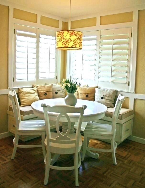 Breakfast Nook Plans Kitchen Seating Nooks With Storage Corner Bench Dining Room Small Small Dining Room Table Dining Nook