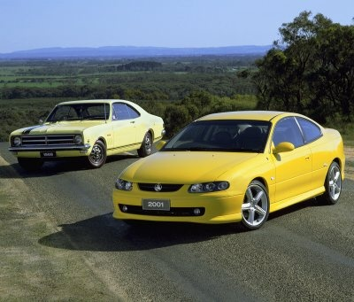 A nice contrast between the first and last of the brand. Will we ever see another Monaro model?