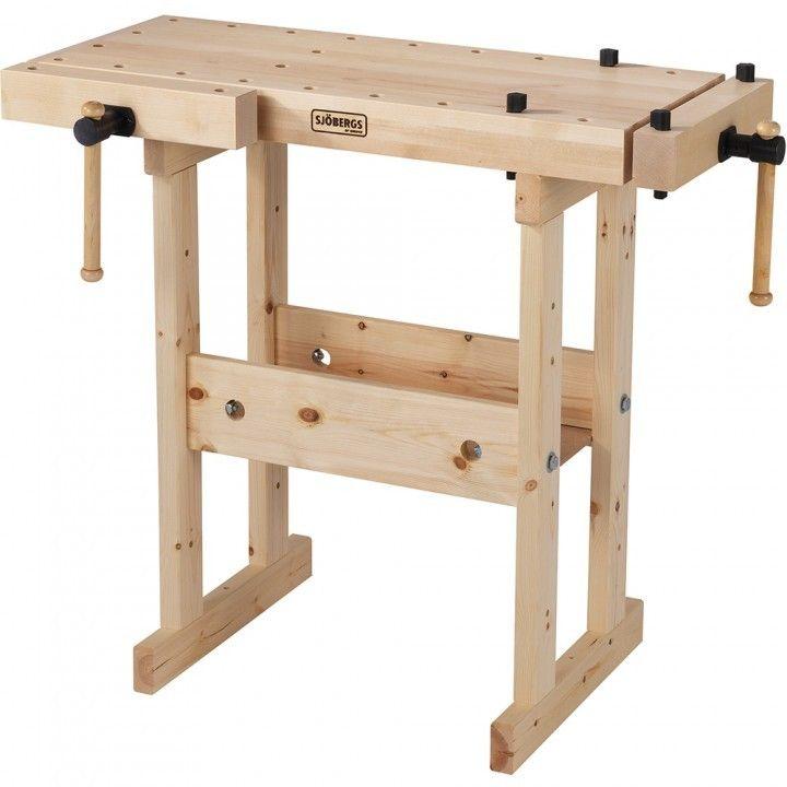 Sjobergs Junior/Senior Workbench - Workbenches and Tops - Workshop Accessories