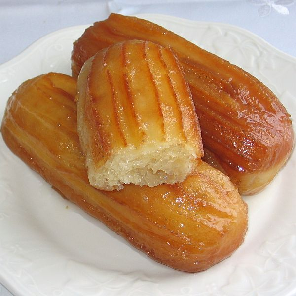 Balkan Tulumbe Pastries. These Balkan treats are sweet dough fried and then soaked in simple syrup.