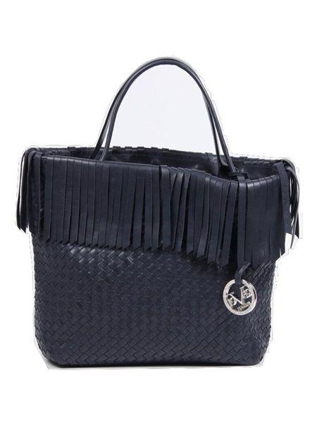 PERU' INTRECCIATO BLU < Handbags   VERSACE 19.69