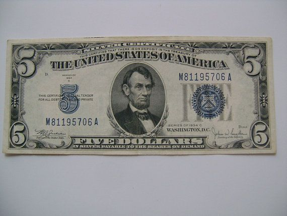indian 5 dollar bill serial number n35590216