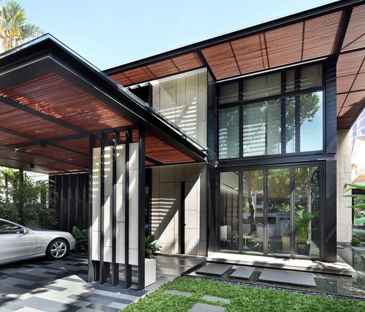 One tree hill by ongong contemporary two storey single family residence designed by ongong situated in singapore description by ongong this house at