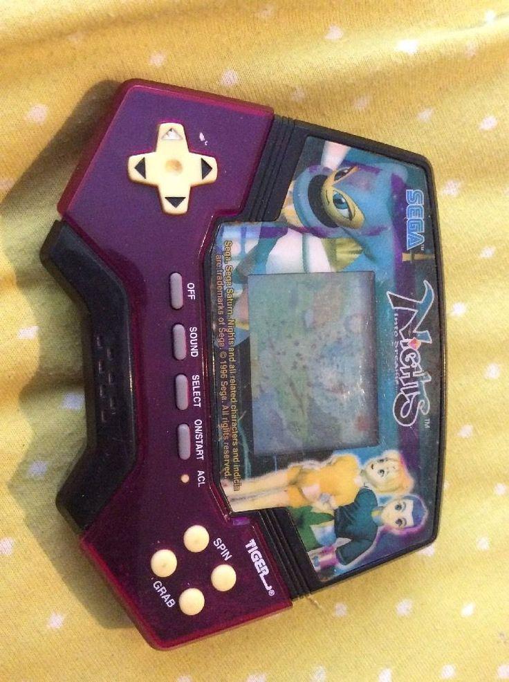 Tiger Electronics Handheld Game LCD – Sega Nights into Dreams #sega #nightsintodreams #tigerelectronics #tiger #game