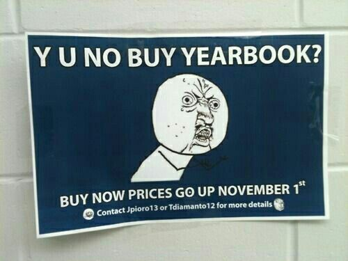 Ways to market your yearbook | Yearbook themes, Yearbook ...
