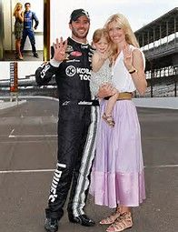 Image result for NASCAR Jimmie Johnson Wife