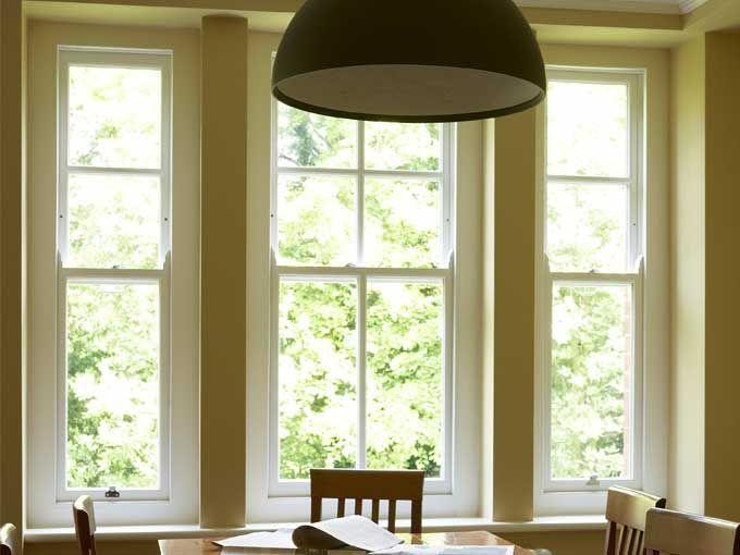 Beautiful Narrow Timber Sash Windows