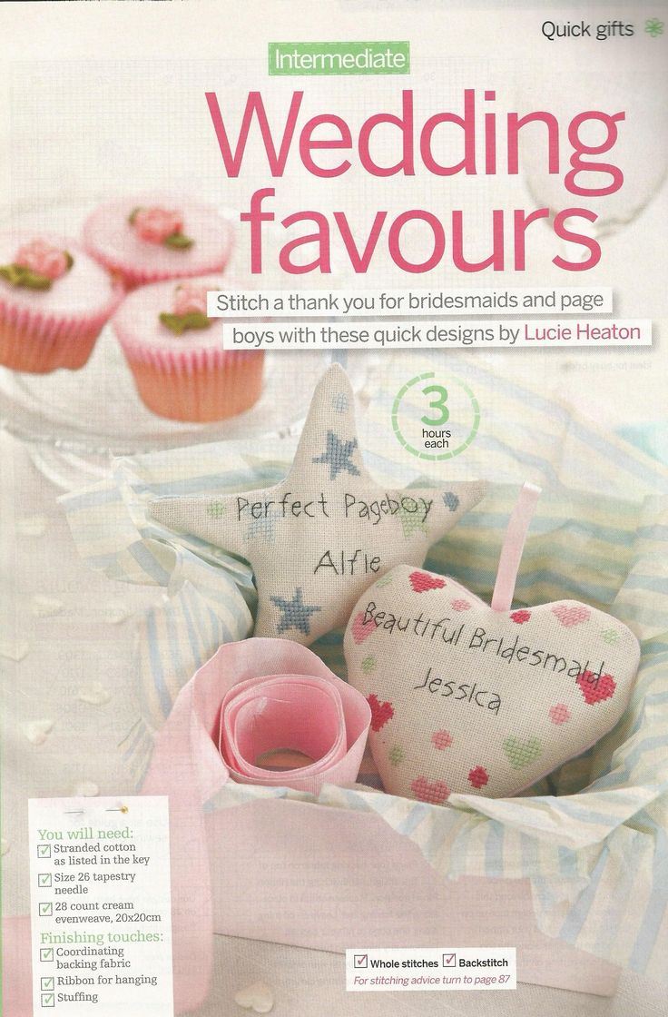 Wedding favours - Lucie Heaton