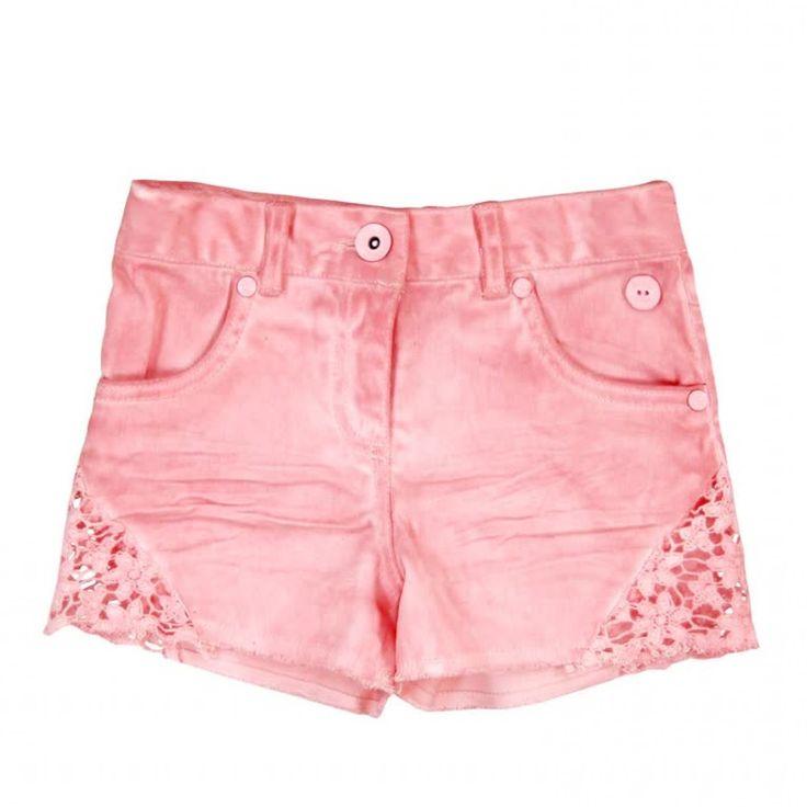 Pink Lace Shorts