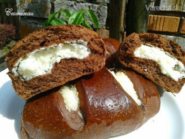 Kokosom plnené kakaové koláče (fotorecept)