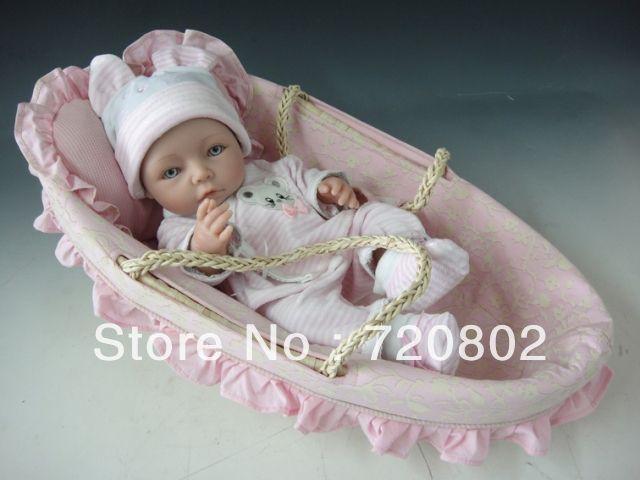 100% full silikonové živý dítě silikonové reborn panenky-in panenky od Hračky a koníčky na Aliexpress.com | Alibaba Group