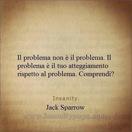 il problema jack sparrow