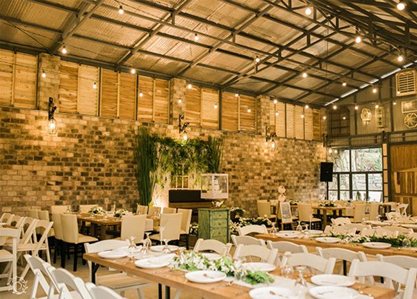 A Blush And Beige Wedding With Rustic Theme