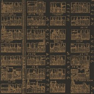The Sandberg 'New York Stories' wallpaper collection, available to order from Relics of Witney.