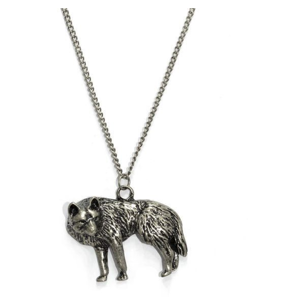 WOLF PENDANT NECKLACE ❤ liked on Polyvore featuring jewelry, necklaces, accessories, wolf necklace pendant, wolf necklace, wolf pendant necklace, pendant jewelry and wolf jewelry