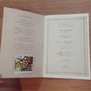 repo☺ウェルカムスペース→挙式 の画像|nico◡̈*blog 手作り結婚式