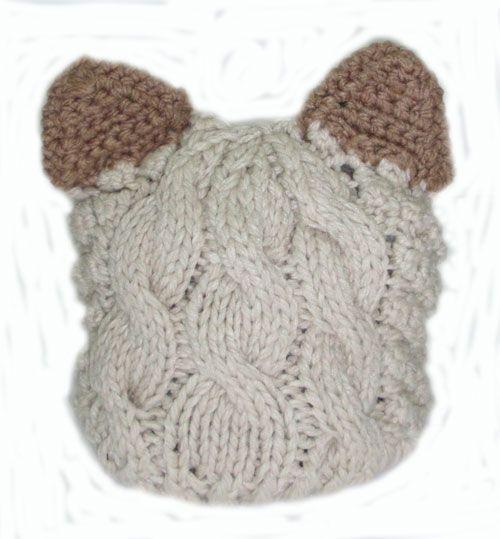 bear style beannie_fashion woman accessories.