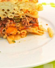 Een lekker Grieks pastarecept. Makkelijk om te maken en super lekker! Griekse pastitio Tijd: 30 min.   30 min. in de oven Recept voor 6 personen Dit heb je nodig 400 gram dikke pasta (of een andere pasta zoals penne)…