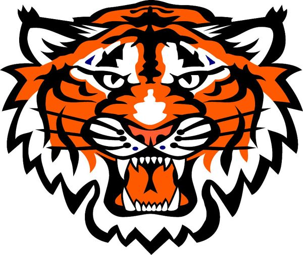 tiger pride clip art - photo #3
