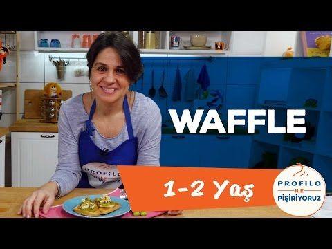 Bebekler İçin Waffle - Ballı ve Muzlu (1-2 Yaş) | Profilo ile Pişiriyoruz | İki Anne Bir Mutfak - YouTube