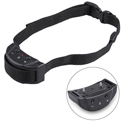 Dog Training Collars, AOBILE(TM) [PetTrainer] Electronic NO Bark Dog Shock Collar Adjustable Sensitivity Control Dog Training Collar Anti-bark Trainer Dog Collars
