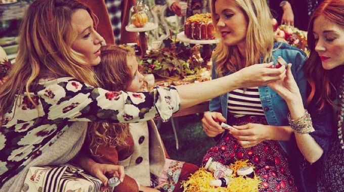 Blake Lively dévoile sa baby shower