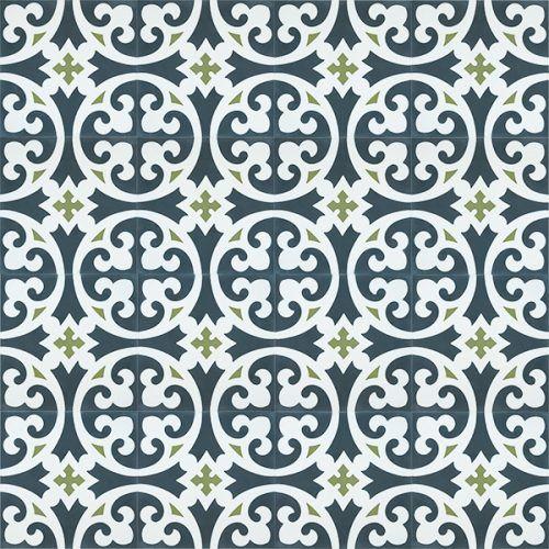 Meknes Encaustic Tile Rever Tiles Vibrant Beautiful Timeless Encaustic Tile Unique Tile Honeycomb Tile