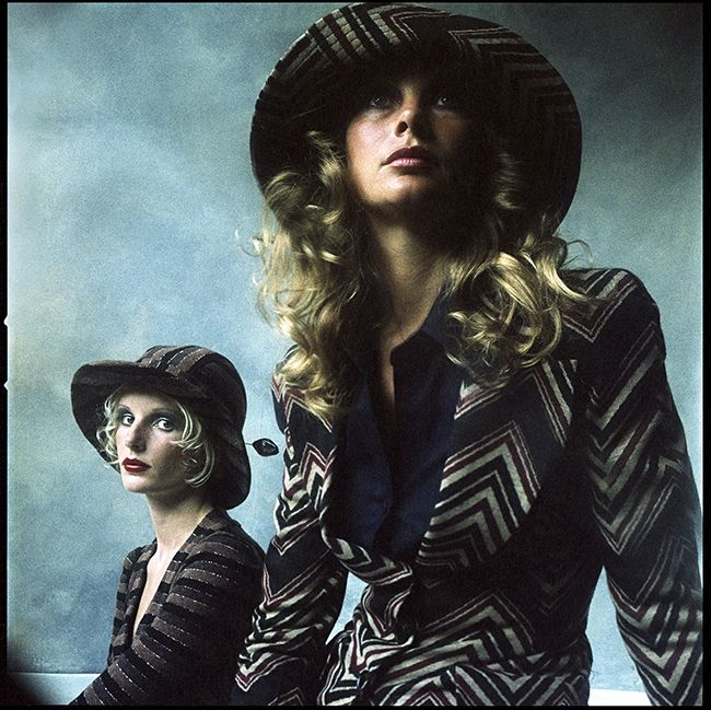 Telegraph - Jean Shrimpton and Barbara Miller 1973 - The Duffy Archive