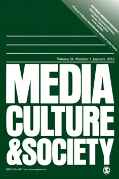 media culture and society Sport in society cultures, commerce, media, politics  media, politics  culture, sport, society (1998 - 2003) list of issues latest articles.