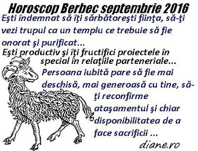diane.ro: Horoscop Berbec septembrie 2016