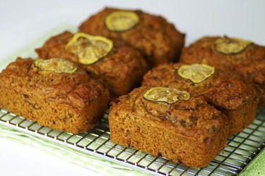Date and feijoa mini loaves
