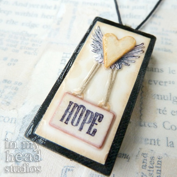 343 best domino jewelry images on pinterest domino jewelry love keeps hope aloft altered domino pendant necklace jewelry upcycled recycled aloadofball Image collections