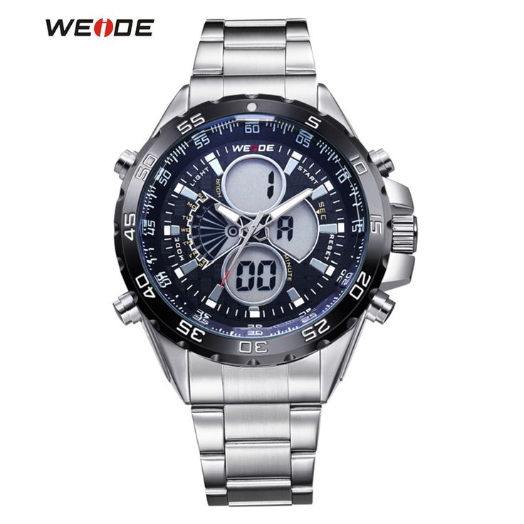 2017 New Luxury WEIDE Men Watches Men's Digital Display Back Light Military Wristwatch Full Steel Relogio Male Clock Man reloj   Tag a friend who would love this!   FREE Shipping Worldwide   Buy one here---> https://shoppingafter.com/products/2017-new-luxury-weide-men-watches-mens-digital-display-back-light-military-wristwatch-full-steel-relogio-male-clock-man-reloj/