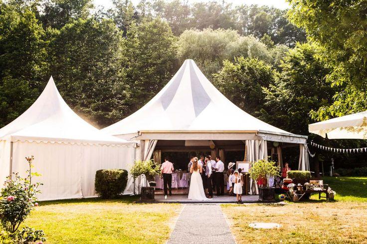 #Hochzeit #Location #Feiern: Pagodenzelt beim Schloss Rotenfels in Gaggenau