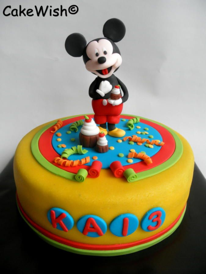 453 best minnieMickey Mouse cakes images on Pinterest Anniversary