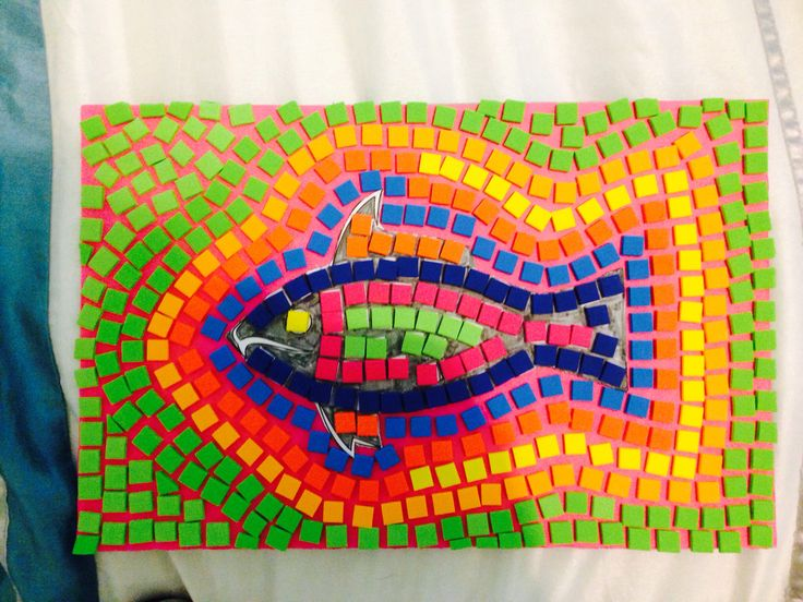 easy mosaic projects Thousands of wonderful art and craft ideas to do with kids that are fun, easy things to make and do, crafts and activities for kids broken pottery or mosaic.