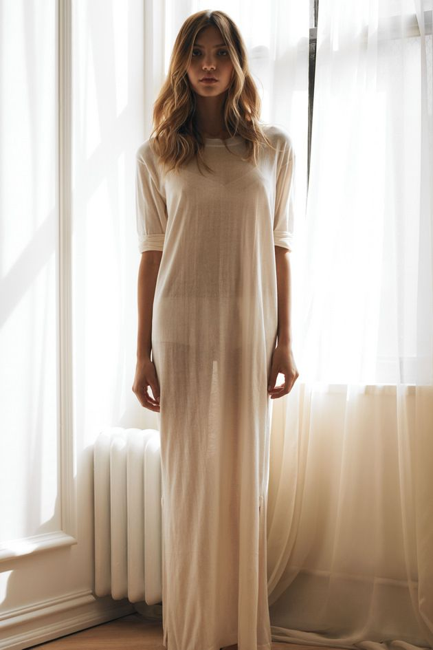 Sleepwear maxi dress