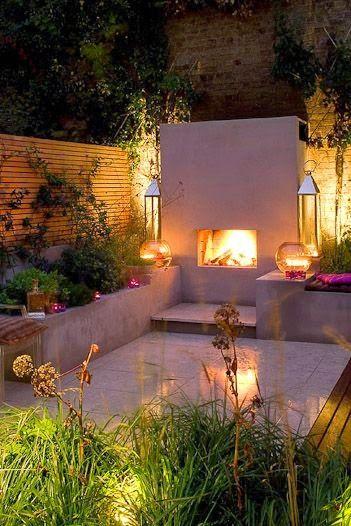 Deliciously at Home - Decor - Organization - Wellness: Decoração   40 Ideias para jardins