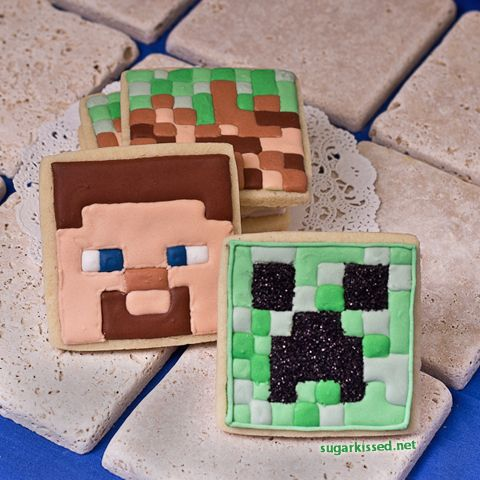 how to make a cookie statue in minecraft