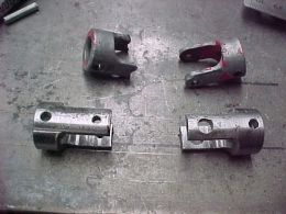 Jack Universal Joint - Homemade jack universal joint constructed from surplus round bar stock.