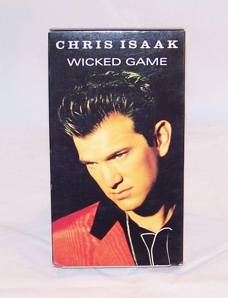 Chris Isaak / Wicked Game - VHS - 1991 - Music Videos - Warner Bros.
