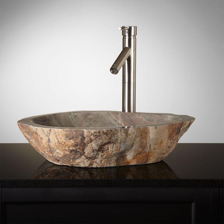 85 best powder room vessel sinks images on pinterest powder rooms sink and vessel sink. Black Bedroom Furniture Sets. Home Design Ideas