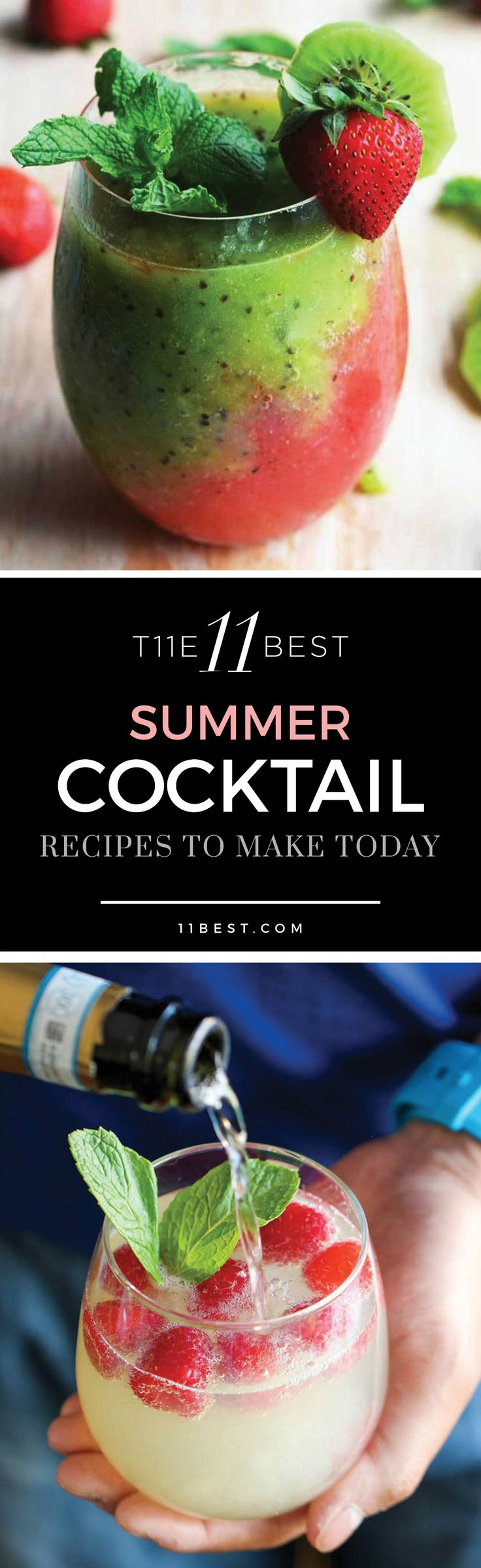 The 11 Best Summer Cocktails. Cocktail recipes and ideas nobody can resist!