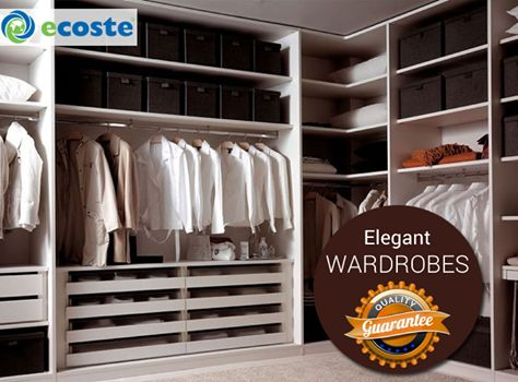 Design the ‪#‎Wardrobe‬ of your Dream with Excellent ‪#‎Quality‬ through Ecoste - http://www.ecoste.in