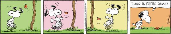 Peanuts by Charles Schulz | October 06, 2014 on GoComics.com